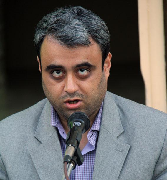 فرهاد عبدوی مسئول جامعه نابینایان آذربایجان شرقی