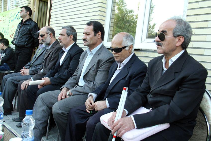 مراسم بزرگداشت روز جهاني عصاي سفيد با حضور همیاران حقوق بشر تبریز