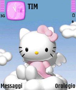 تم دخترانه Hello Kitty - نوکیا