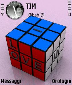 عکس   دانلود تم مربع Love Cubix سیرجان ۲دانلود برای سری 60 ویرایش سوم