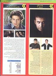 نظرسنجی بهار 91 مجله ترانه ماه