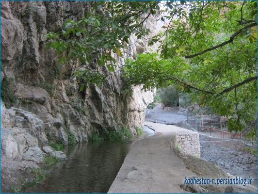 روستای امامه - مسیر مهرچال