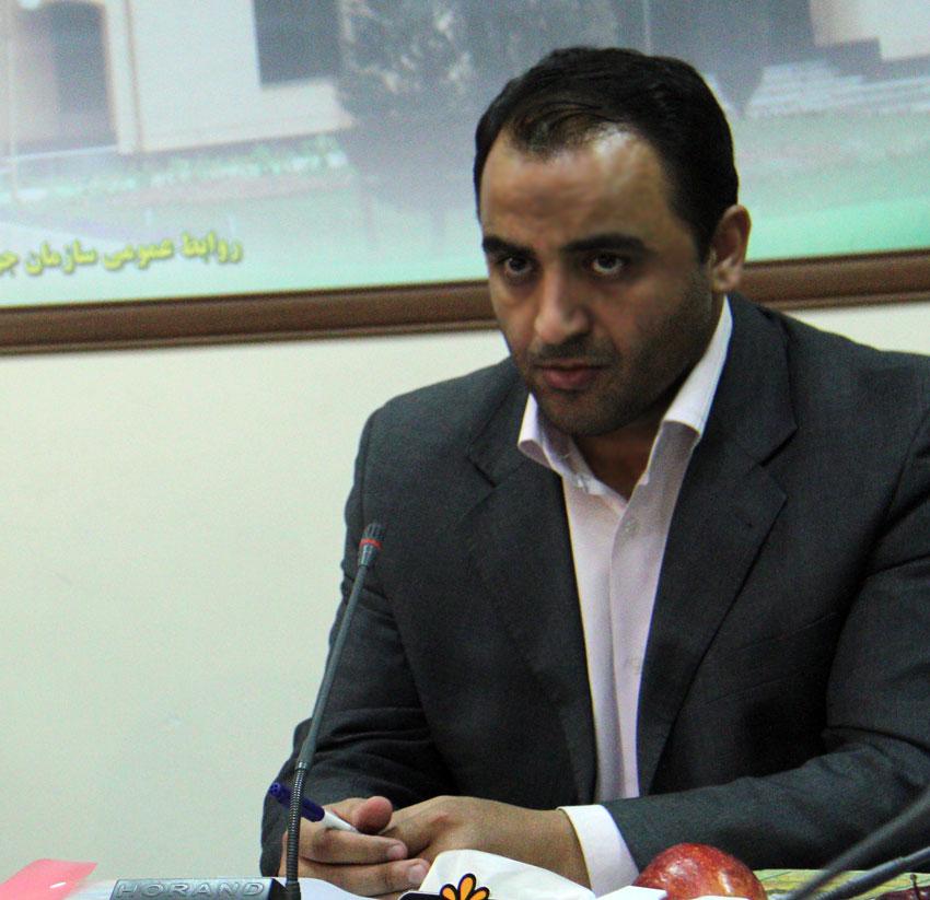 مهندس وحید کاظم زاده در جمع خبرنگاران
