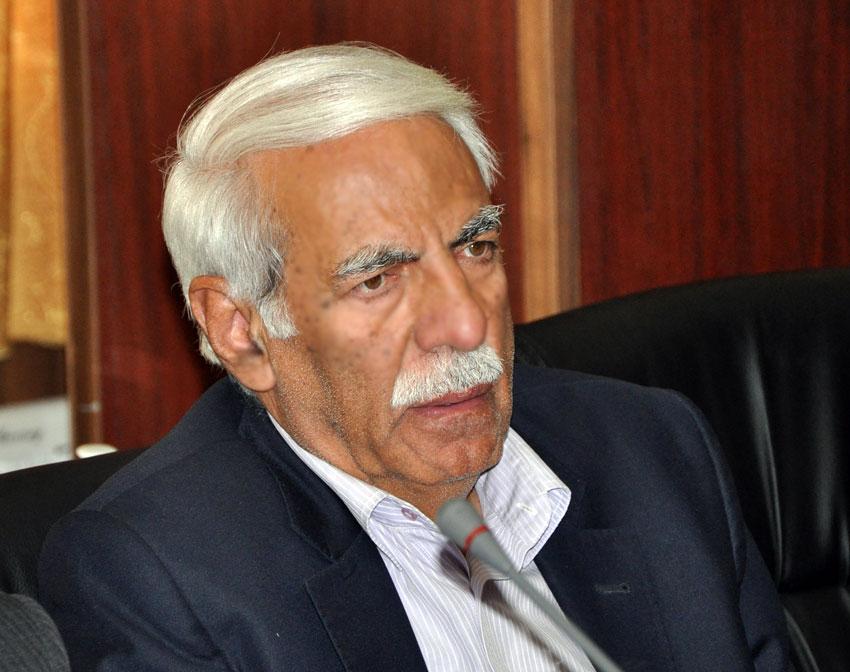 مهندس سیدمسعود پیمان  در نشست هيئت امناي دفتر منطقه 7 کمیسیون حقوق بشراسلامی با بزرگان و معتمدين شهر تبريز