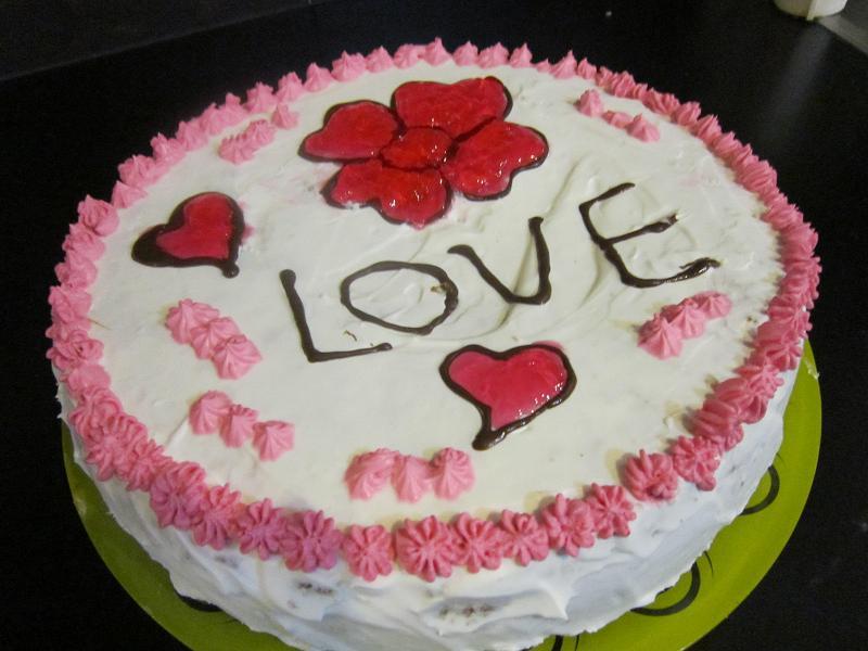 خانوم خونه - تزیین کیک