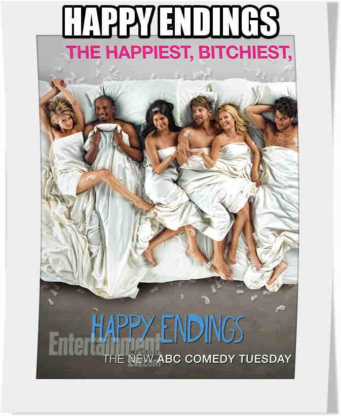سریال Happy Endings فصل سوم