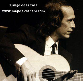 موسیقی: دانلود قطعه زیبای Tango de la rosa