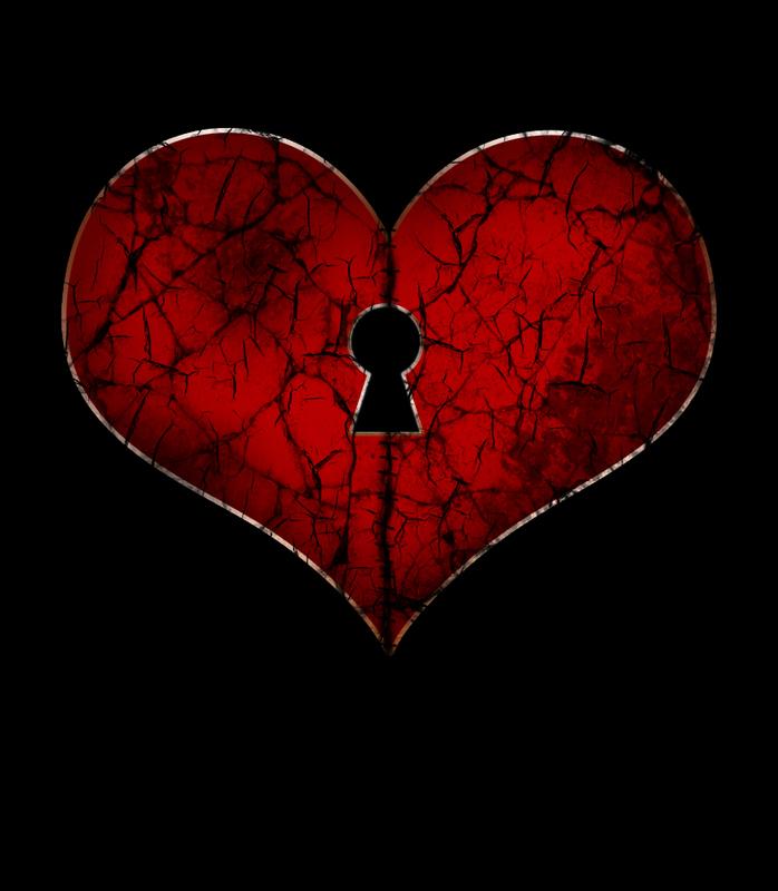 عکس قلب شکسته بامتن