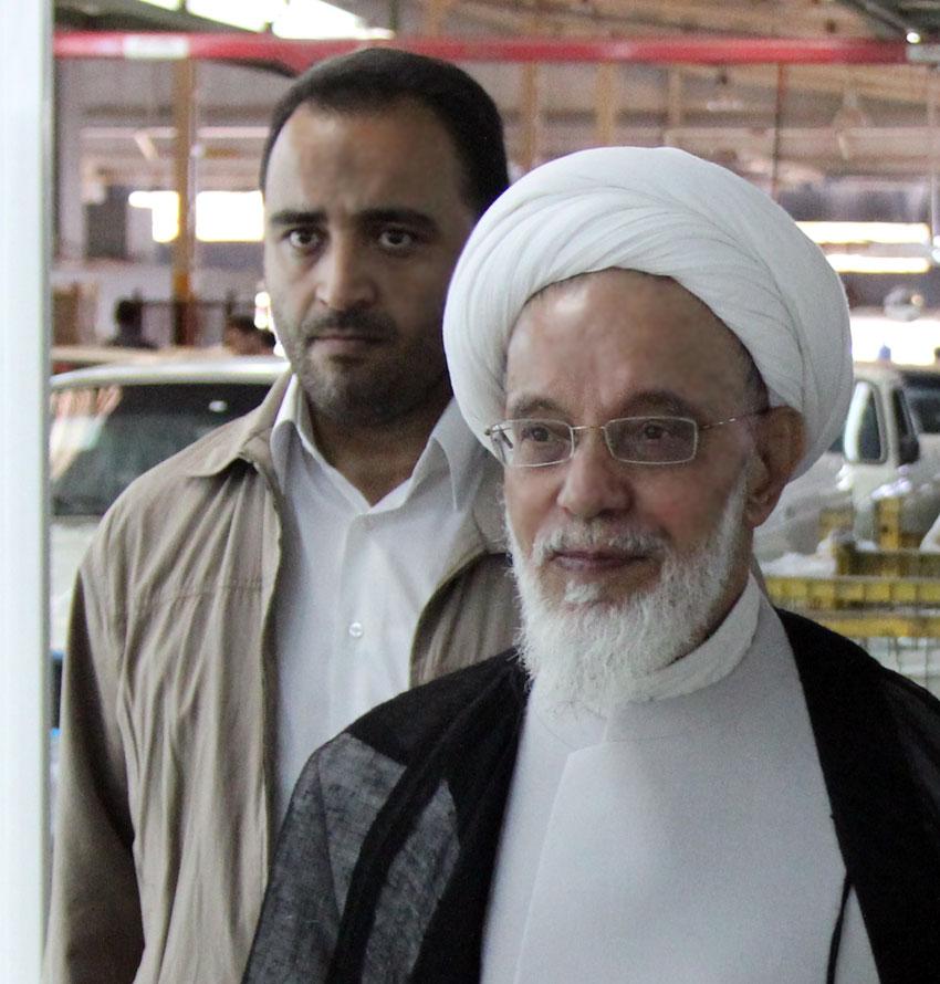 آيتالله هاشم هاشمزاده هريسي عضو شورایعالی کمیسیون حقوق بشراسلامی در بازدید از قسمت های مختلف مجتمع بهزیستی شهید دکتر فیاض بخش تبریز