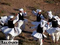 رقص محلی بلوچی