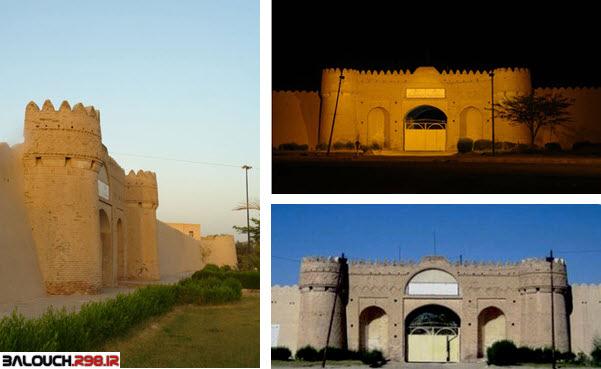 مجموعه تصاویر زیبا از قلعه ناصری ایرانشهر