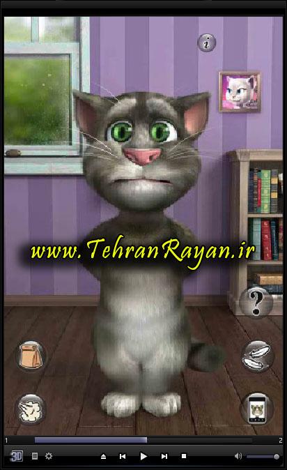 گربه سخنگو برای کامپیوتر Talking Tom Cat 2 For PC