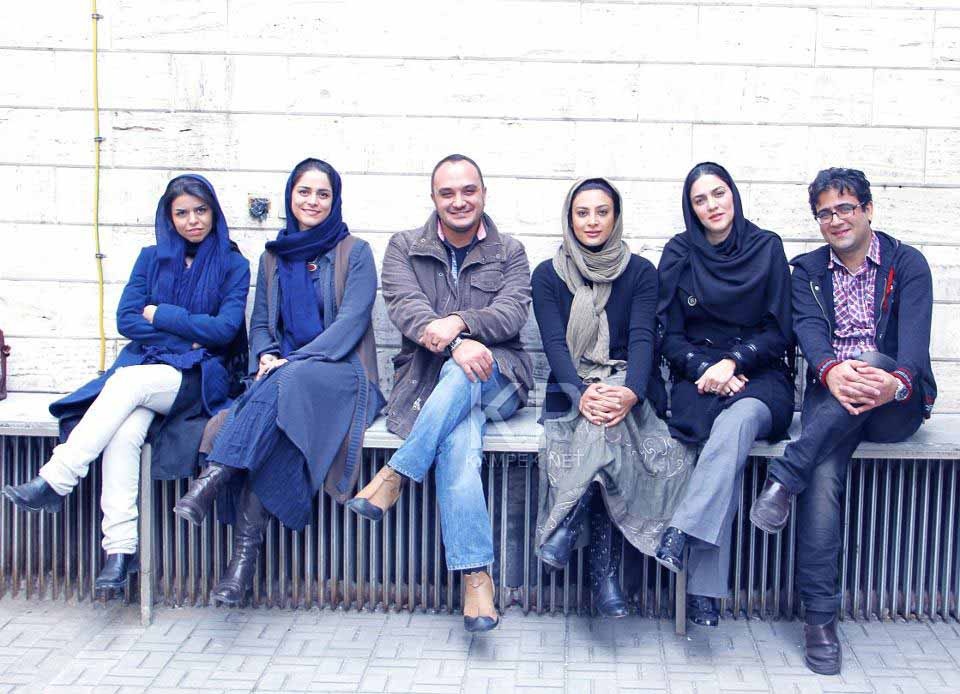 عکس جدید حدیثه تهرانی و شایسته ایرانی
