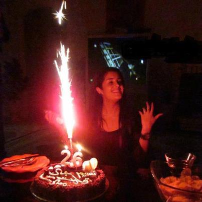 عکس جشن تولد 26 سالگی nasim زدبازی