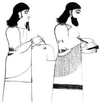 نامه نویسی به عنوان شغل و کسب و کار و حرفه اقتصادی در دوران باستان و قدیم در بین النهرین