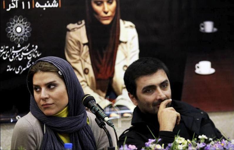 عکس های سحر دولتشاهی در مشست خبری