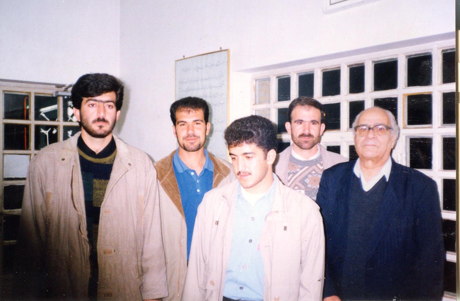 مهرداد ، من ، مشفق کاشانی ، داریوش همتی ، حمدالله لطفی
