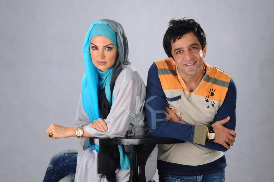 عکس جدید مهشید حبیبی و همسرش مجید یاسر