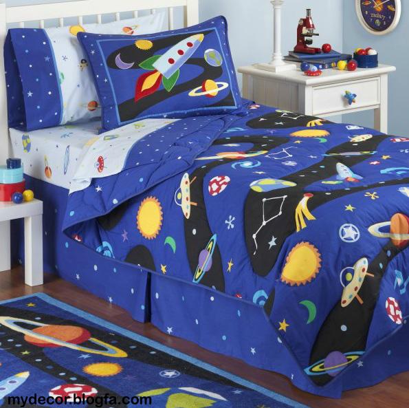 5 مدل طراحی دکوراسیون اتاق کودک خواب (اتاق خواب پسر