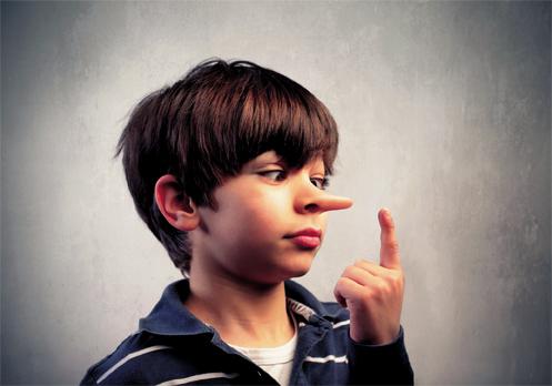 عربی:دروغ گویی در کودکان