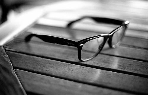 عینک ریبن شیشه شفاف مدل 2012
