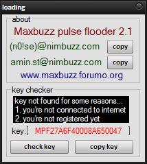 Maxbuzz Pulse Flooder 2.1 Cch