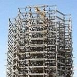 طراحی ، ساخت و نصب اسکلت فلزی ساختمان پیچ و مهره ای