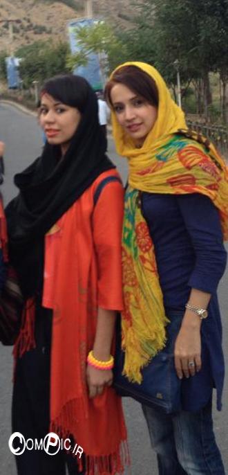 عکس های شخصی شبم قلی خانی و خواهر زادش