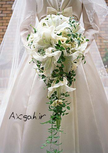 4537174912 جدید ترین دسته گل های عروس 2013