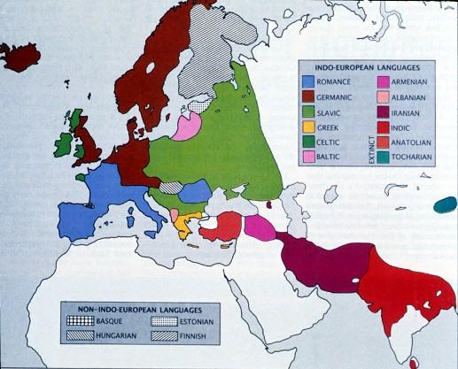 Indo-European languages - زبان های هند و اروپایی