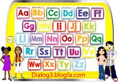 آموزش حروف الفبای انگلیسی