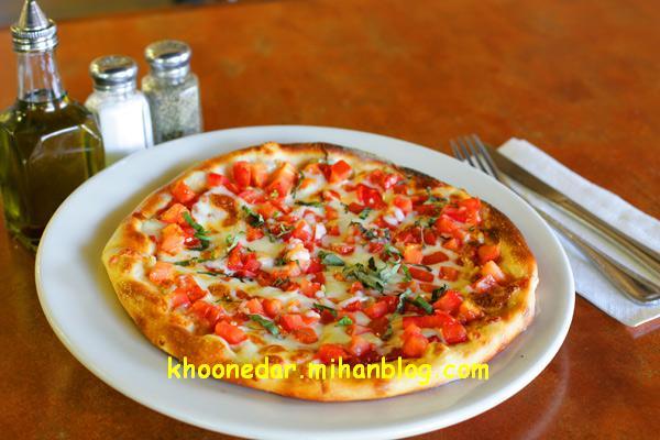 پیتزای مارگاریتا (غذای ایتالیایی)