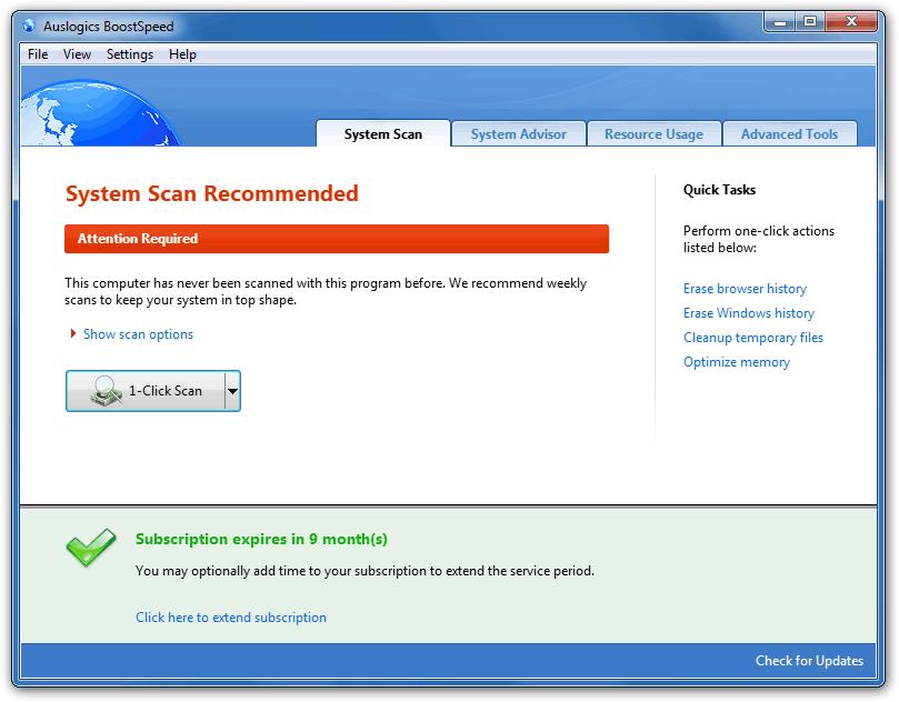 دانلود برنامه بهینه سازی کامپیوتر Auslogics_BoostSpeed
