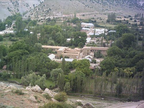 روستای قره بلاغ شهرستان تکاب