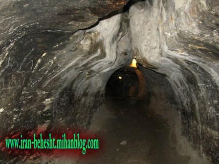 یکی از دالانهای غار