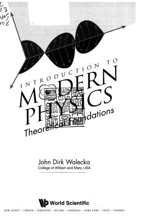 Elementary Modern Physics by Weidner and Sells