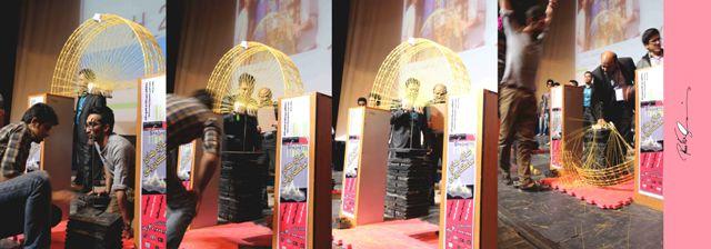 گزارش تصویری ششمین دوره مسابقات کشوری سازه های ماکارونی
