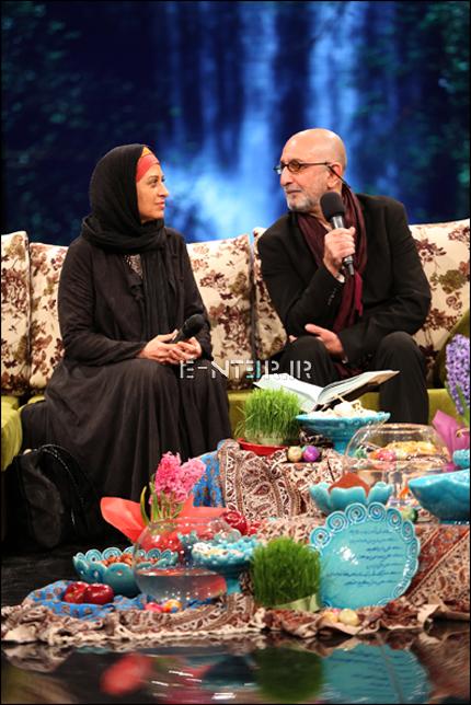عکس جدید فرهاد ائیش و همسرش مائده طهماسبی