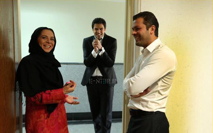 عکس جدید پژمان بازغی و همسرش مستانه مهاجر