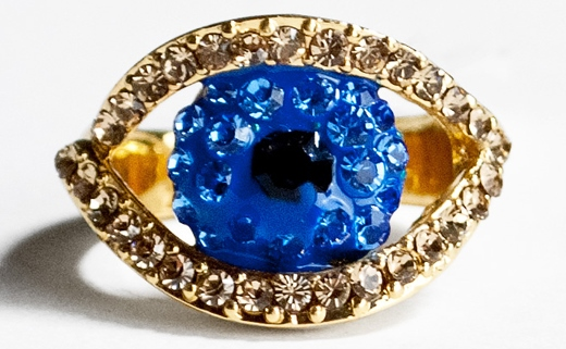 the evil eye ring - حلقه چشم زخم