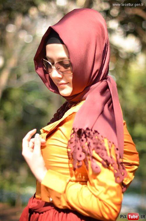 مدل مانتو و روسری اسلامی