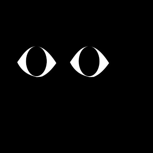 black cartoon cat - گربه سیاه کارتون
