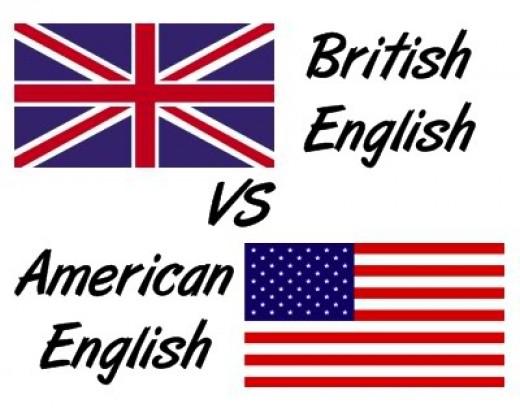 British vs. American - بریتانیایی در برابر آمریکایی