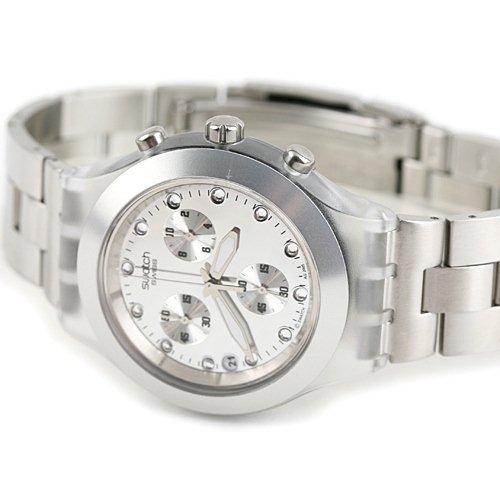 خرید ساعت سواچ نقره ای