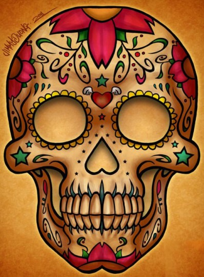 sugar skull - جمجمه