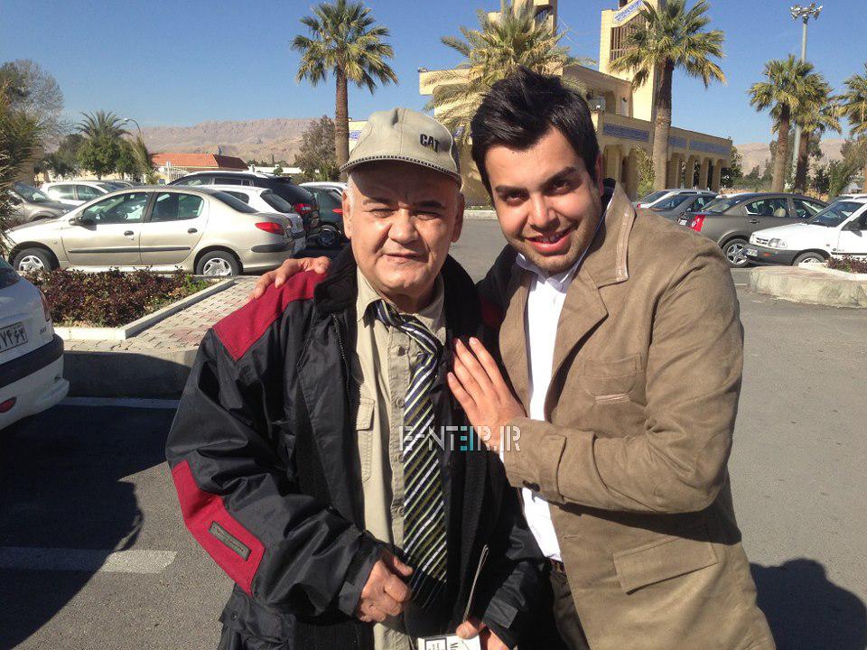 عکس جدید اکبر عبدی در پشت صحنه برنامه خوشا شیراز