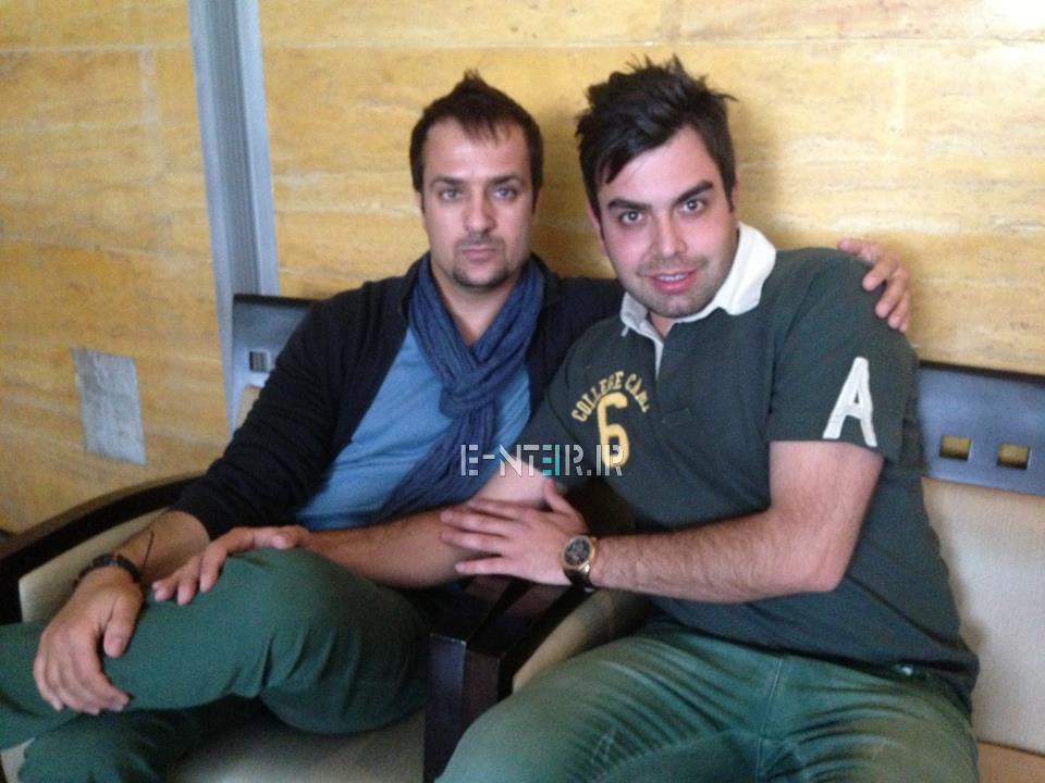 عکس جدید احمد مهران فر در پشت صحنه برنامه خوشا شیراز