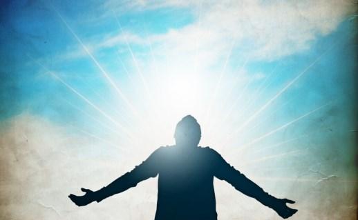 گفتگو با خدا - مرد نگاه آسمان - Interview with God - man look at sky