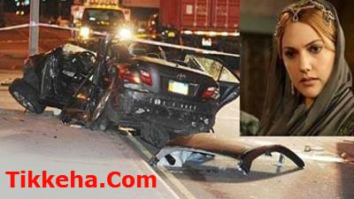 khorramm عکس ماشین خرم سلطان پس از تصادف