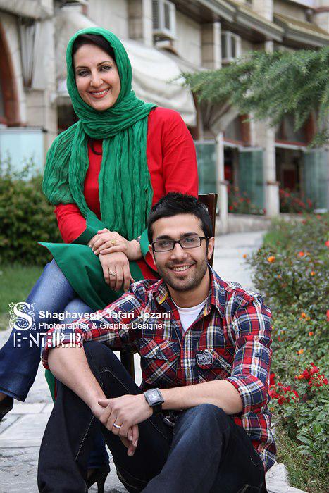 فاطمه گودرزی و حسین مهری بازیگران سریال بالهای خیس
